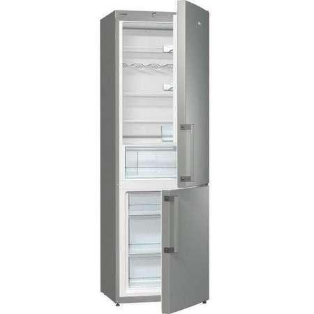 Combina frigorifica Gorenje RK 6191 AX 321 litri Clasa A+ Argintiu