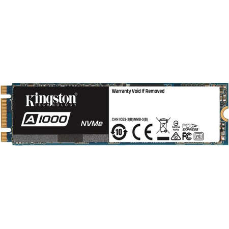 SSD Kingston A1000 240GB PCI Express 3.0 x2 M.2 2280