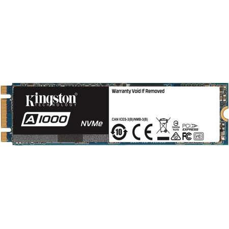 SSD Kingston A1000 480GB PCI Express 3.0 x2 M.2 2280