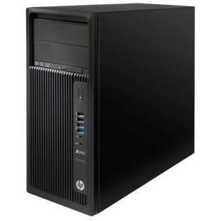 Sistem desktop HP Z240 MT Intel Xeon E3-1205 v6 16GB DDR4 1TB HDD 256GB SSD nVidia Quadro K620 2GB Windows 10 Pro Black