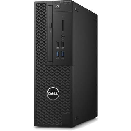 Sistem desktop Dell Precision 3420 Intel Core i7-7700 8GB DDR4 500GB HDD nVidia Quadro P600 2GB Windows 10 Pro Black