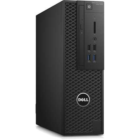 Sistem desktop Dell Precision 3420 Intel Core i7-7700 8GB DDR4 500GB HDD nVidia Quadro P600 2GB Windows 10 Pro Black