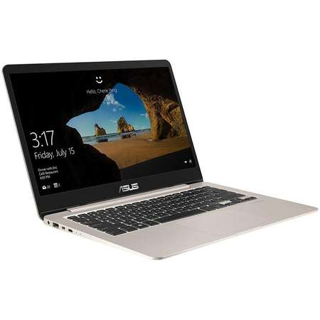 Laptop Asus VivoBook S14 S406UA-BM031 14 inch FHD Intel Core i7-8550U 8GB DDR3 256GB SSD Endless OS Icicle Gold