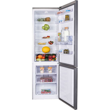 Combina frigorifica Beko RCSA400K30DXB 385 Litri Clasa A++ Argintiu