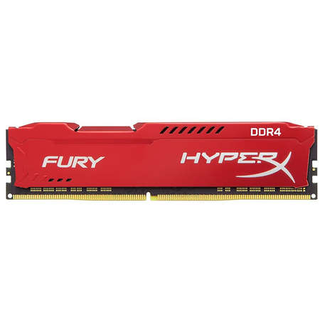 Memorie Kingston HyperX Fury Red 8GB DDR4 2400 MHz CL15