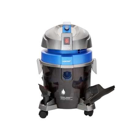 Aspirator filtrare prin apa Albatros Aqualtys 7.2L Praf 3L Lichide 1600W Gri Albastru