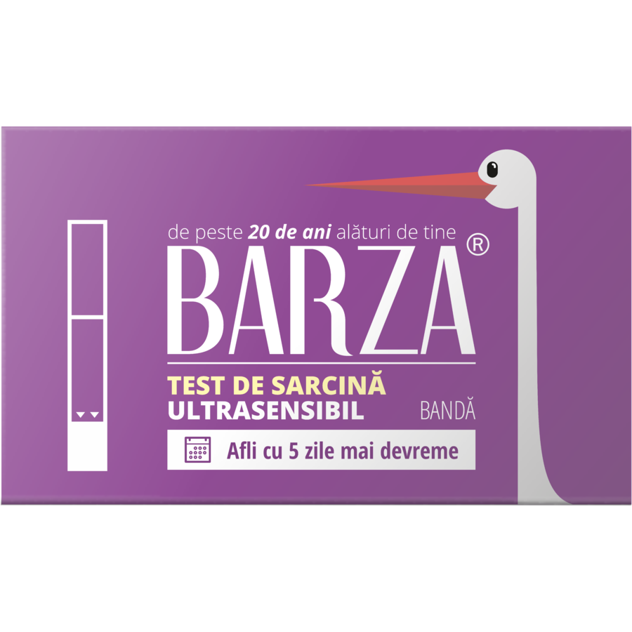 Test de sarcina Strip Ultra Sensitive banda thumbnail
