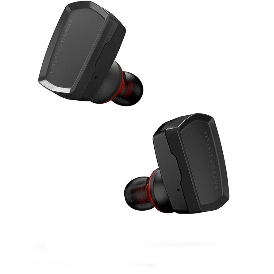 Casti Bluetooth In-ear Earphones 6 True Wireles Microfon Negru