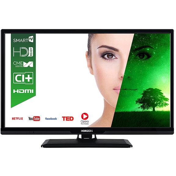 Televizor LED Smart TV 24 HL7130H 61cm HD Ready Black thumbnail