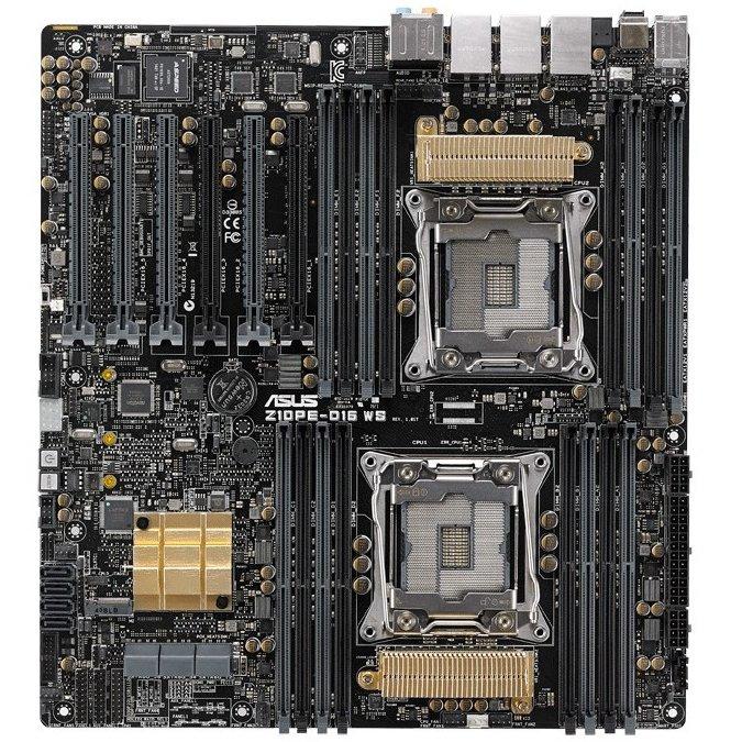 Placa de baza server Z10PE-D16 WS Intel LGA2011-3 EEB thumbnail