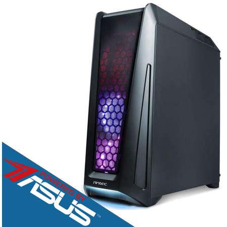 Sistem desktop Blaster V4 Powered by ASUS Procesor Intel Core i7-8700 Hexa Core 3.2 GHz 8GB DDR4 Placa video Asus nVidia GeForce GTX 1060 STRIX GAMING 6GB DDR5 HDD 1TB Iluminare RGB Free Dos Black