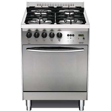 Aragaz Lofra Curba C66GV/C Gaz 4 arzatoare grill electric timer cuptor gaz Inox