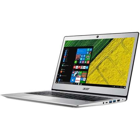 Laptop Acer Swift SF113-31-P5T1 13 inch HD Intel Pentium N4200 4GB DDR3 128GB SSD Linux Silver