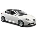 Macheta auto BBURAGO Alfa Romeo Giulietta Alb Scara 1:32