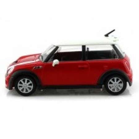 Macheta auto BBURAGO Mini Cooper S Rosu Scara 1:43 Colectia Street Fire