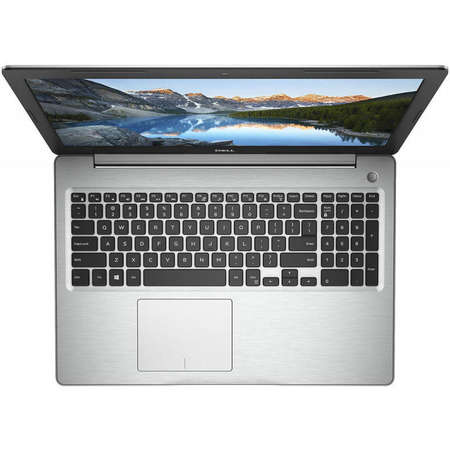 Laptop Dell Inspiron 5570 15.6 inch FHD Intel Core i5-8250U 4GB DDR4 1TB HDD AMD Radeon 530 2GB FPR Backlit KB BT 4.1 Linux Silver 3Yr CIS