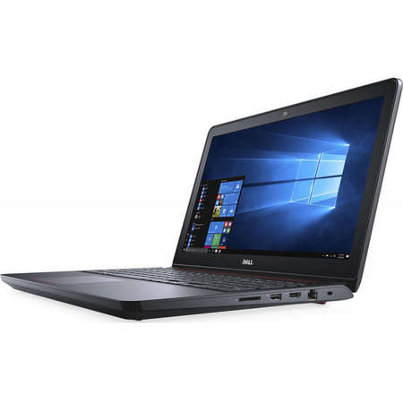 Laptop Dell Inspiron 5577 15.6 inch FHD Intel Core i5-7300HQ 8GB DDR4 256GB SSD nVidia GeForce GTX 1050 4GB FPR Backlit KB Windows 10 Home Black 3Yr CIS
