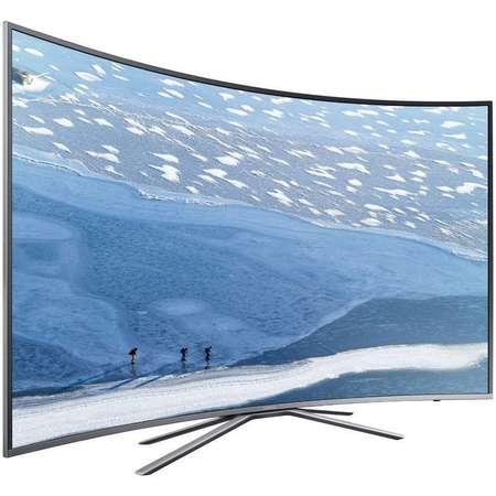 Televizor Samsung LED Smart TV Curbat UE78 KU6502 Ultra HD 198cm Grey