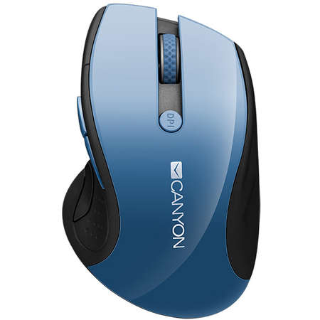 Mouse Canyon CNS-CMSW01BL Wireless Blue Gray Pearl Glossy