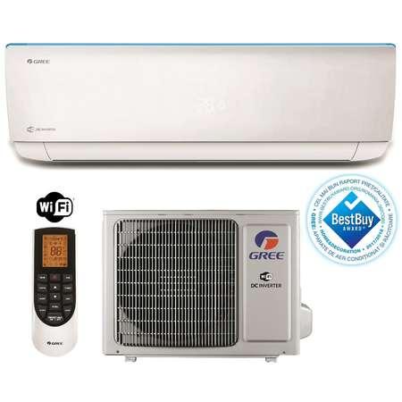 Aparat aer conditionat Gree BORA A4 GWH09AAB-K3DNA4A 9000BTU Inverter Wi-Fi A++ Alb + Kit de Instalare