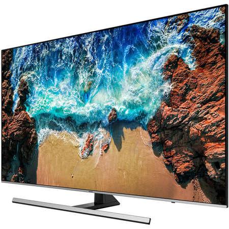 Televizor Samsung LED Smart TV UE75 NU8002 190cm UHD 4K Silver Black