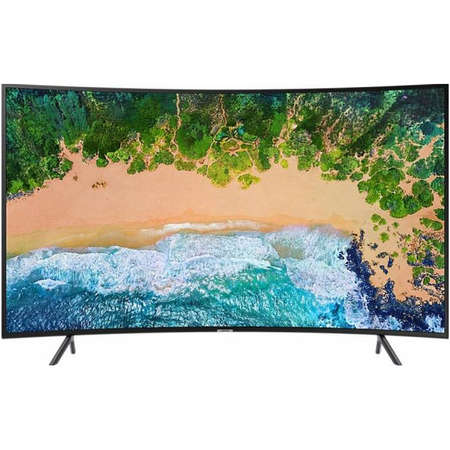 Televizor Samsung LED Smart TV Curbat UE49NU7302 124cm UHD 4K Black