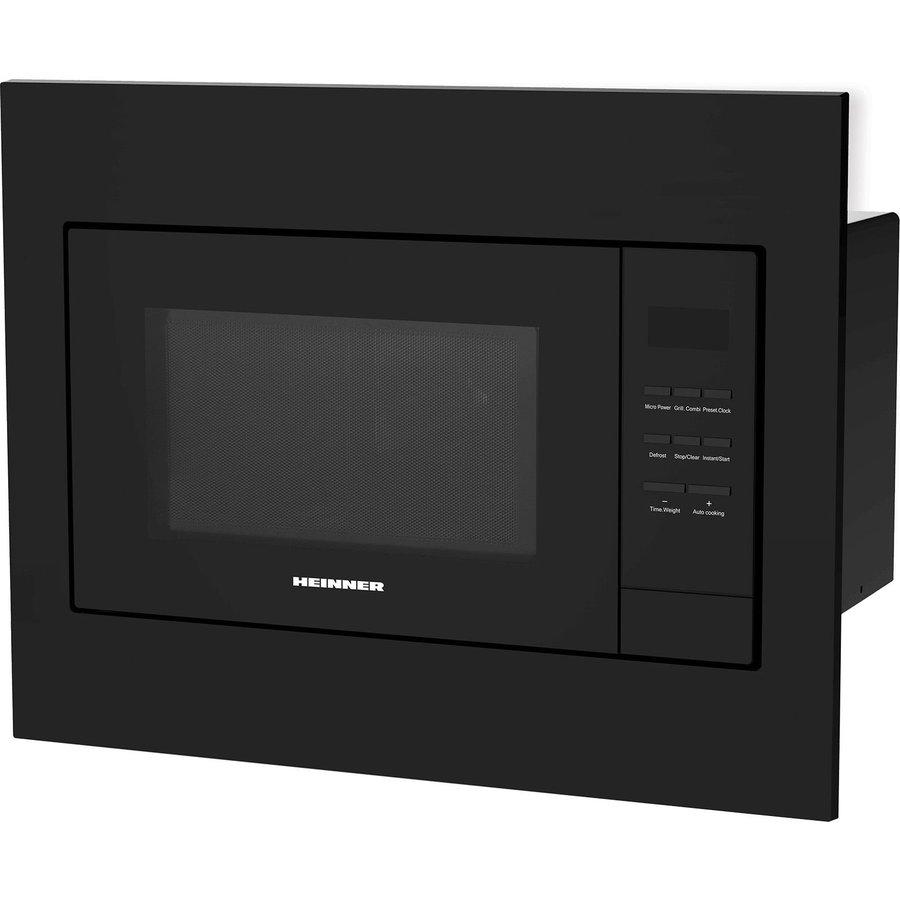 Cuptor cu microunde incorporabil HMW-23BI-BK 23L 800W Negru thumbnail