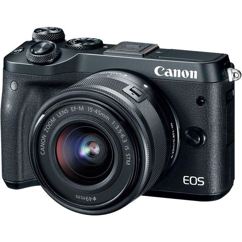 Aparat foto EOS M6 BK 15-45 EU26