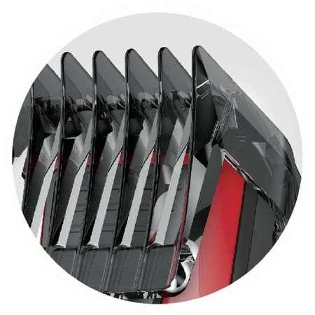 Masina de tuns Remington HC5100 0.5 - 23 mm 12 trepte Lame lavabile Negru/Rosu