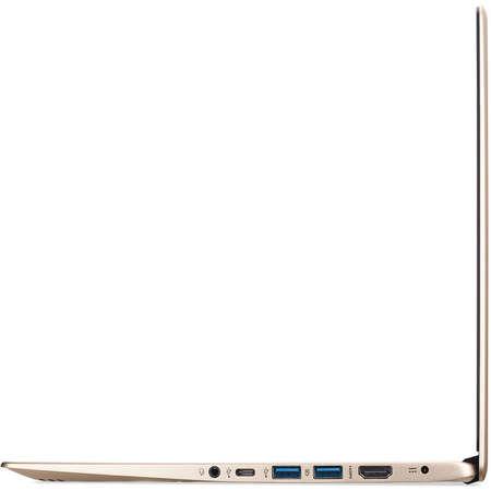 Laptop Acer Swift 1 SF114-32-P1W2 14 inch FHD Intel Pentium N5000 4GB DDR4 128GB SSD Linux Gold