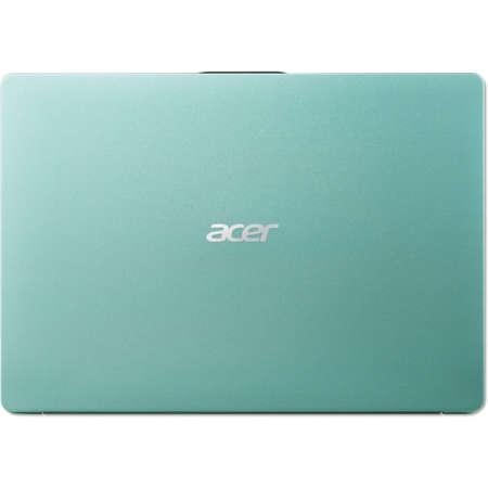 Laptop Acer Swift 1 SF114-32-P4DU 14 inch FHD Intel Pentium N5000 4GB DDR4 128GB SSD Linux Aqua Green