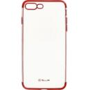 Silicon Electroplated Rosu pentru Apple iPhone 8 Plus