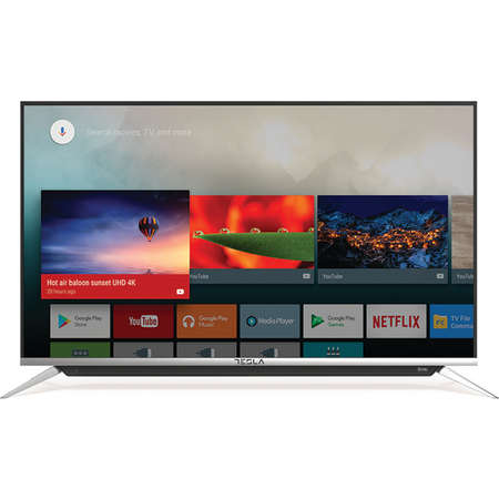 Televizor TESLA LED Smart TV 43 S901SUS 109cm UHD 4K Silver Black