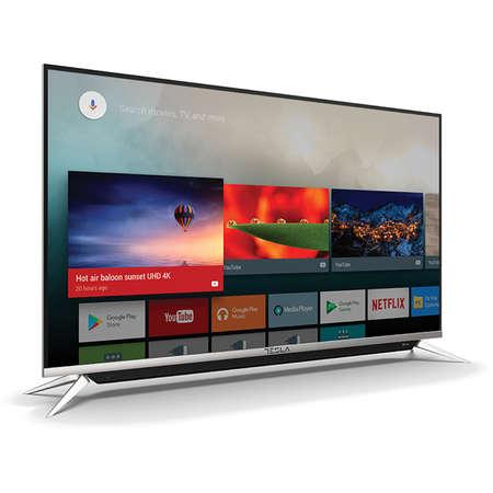 Televizor TESLA LED Smart TV 55 S901SUS 139cm UHD 4K Silver Black