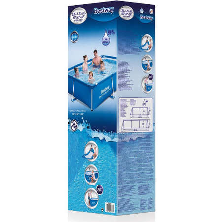Piscina Bestway Deluxe Steel Splash Jr. Pro