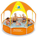 Piscina Bestway Steel Pro cu acoperis UV Careful 40+ UPF