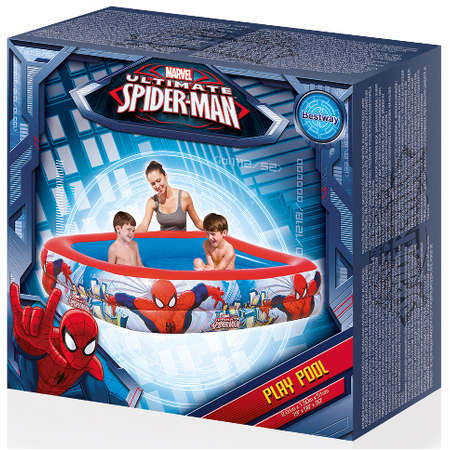 Piscina Bestway cu 2 Inele Spider Man