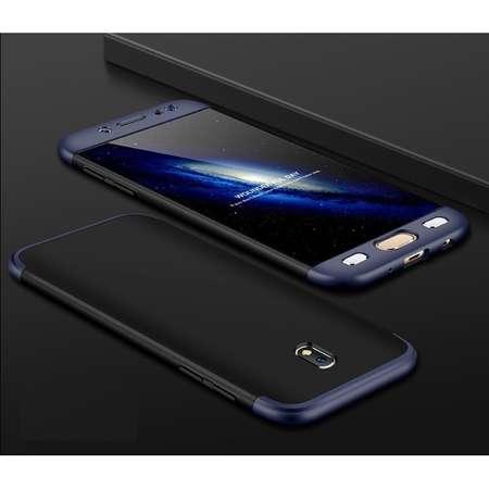 Husa Protectie Spate GKK 360 Negru / Albastru pentru Samsung Galaxy J5 Pro / J5 2017