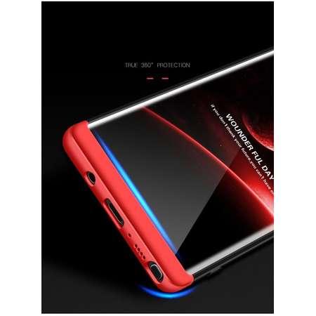 Husa Protectie Spate GKK 360 Negru / Rosu pentru Samsung Galaxy Note 8