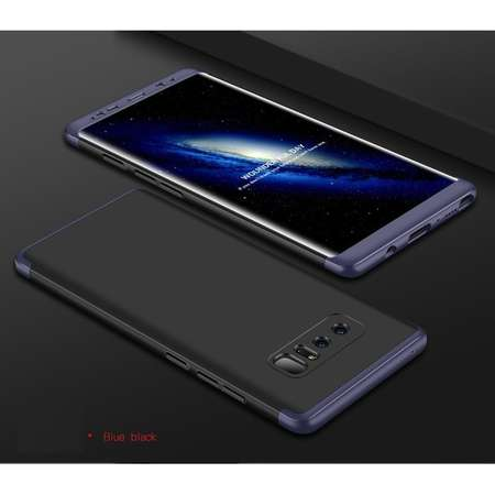Husa Protectie Spate GKK 360 Negru / Albastru pentru Samsung Galaxy Note 8