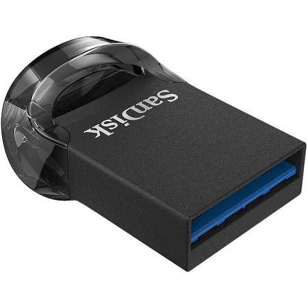 Memorie USB Sandisk Ultra Fit 128GB USB 3.1 Black