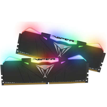Memorie Patriot Viper RGB Black 16GB DDR4 2666MHz CL15 1.2V Dual Channel Kit