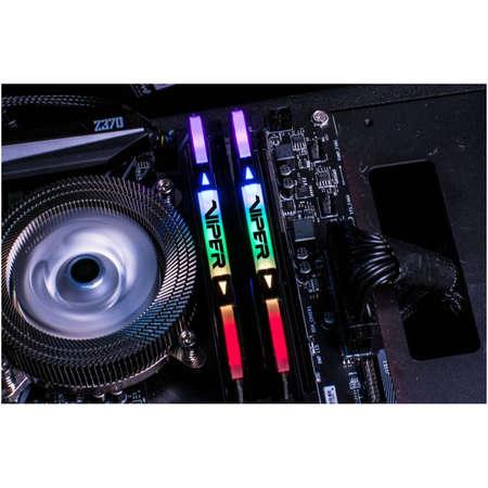 Memorie Patriot Viper RGB Black 16GB DDR4 3200MHz CL16 1.35V Dual Channel Kit