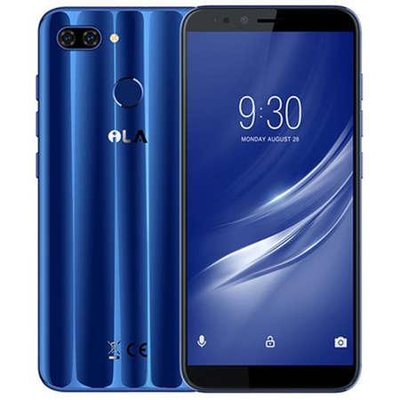 Smartphone iLA Silk 64GB 4GB RAM Dual Sim 4G Blue