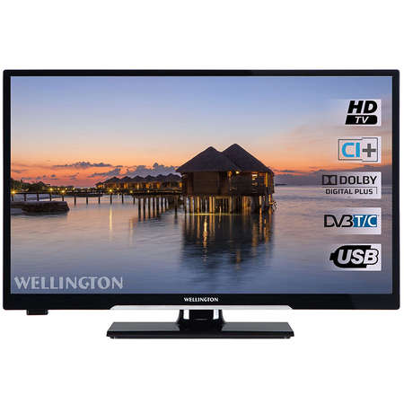 Televizor Wellington LED WL24 HD279 61cm HD Ready Black