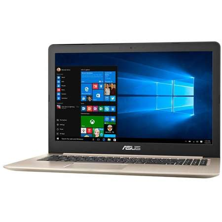 Laptop Asus VivoBook Pro 15 N580VD-FZ812T 15.6 inch FHD Intel Core i7-7700HQ 8GB DDR4 500GB HDD 128GB SSD nVidia GeForce GTX 1050 4GB Windows 10 Home Gold