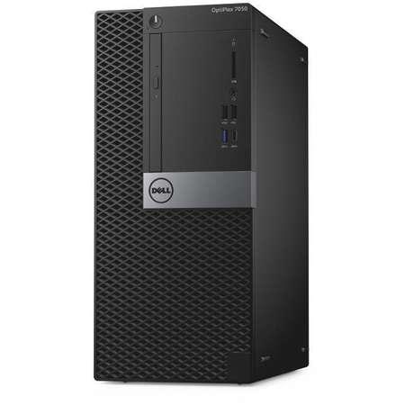 Sistem desktop Dell OptiPlex 7050 MT Intel Core i7-7700 8GB DDR4 1TB HDD Windows 10 Pro Black