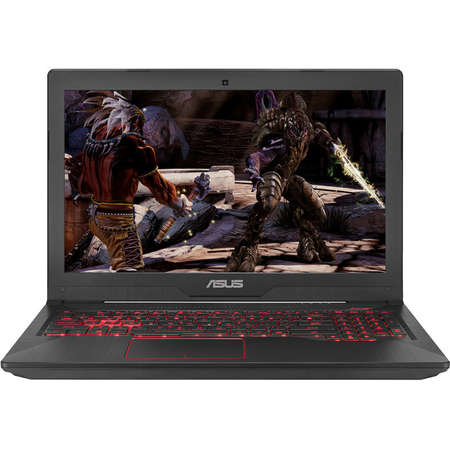 Laptop Asus FX503VD-E4150 15.6 inch FHD Intel Core i5-7300HQ 8GB DDR4 256GB SSD nVidia GeForce GTX 1050 4GB Black