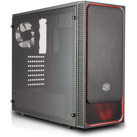 Carcasa Cooler Master MasterBox E500L Red Window