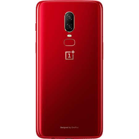 Smartphone OnePlus 6 A6000 128GB 8GB RAM Dual Sim 4G Red